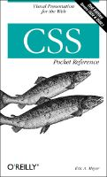 A picture of the cover of 'CSS Pocket Reference, Second Edition'