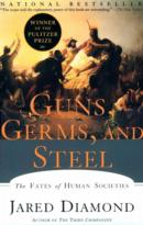 Book cover for 'Guns, Germs, and Steel'