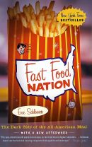 Book cover for 'Fast Food Nation'