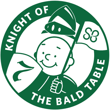 Knight of the Bald Table logo