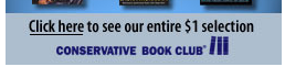 A portion of an ad for the 'Conservative Book Club' taken from a Fox News article.