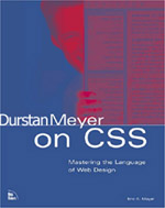 A modification of Eric Meyers's 'Eric Meyer On CSS' that uses Dunstan Orchard's face instead of Eric's.