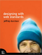 A modification of Jeffrey Zeldman's 'Designing With Web Standards' that uses Dunstan Orchard's face instead of Jeffrey's.