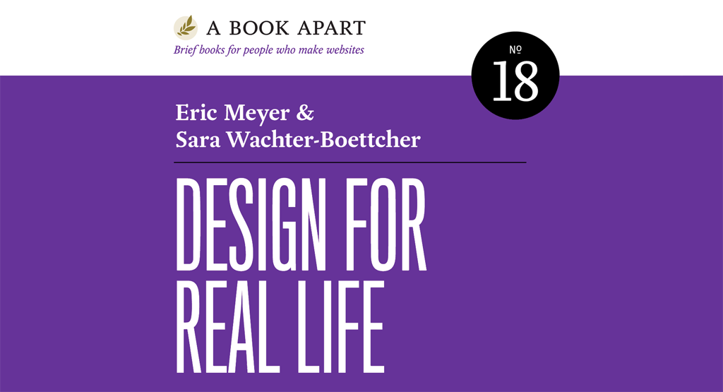 The cover of 'Design for Real Life'